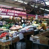 Photo taken at Arthur Avenue Retail Market by Leslie Z. on 6/16/2012