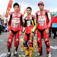 Photo taken at Bengkel Aditiah Motor by Jellay L. on 10/8/2011