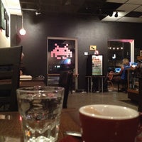 Photo taken at Once Over Coffee Bar by Adam K. on 11/24/2011