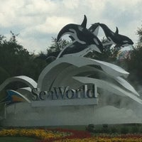 Photo taken at SeaWorld Orlando Parking Lot by Silvia L. on 5/11/2012