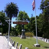 Photo taken at Union Cemetery Historic Site by Lydia K. on 6/27/2011