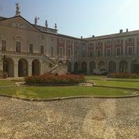 Photo taken at Villa Fenaroli Palace Hotel by Raffaele B. on 8/26/2011