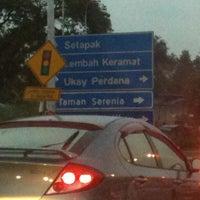 Photo taken at Simpang Masuk Ukay Perdana by Hazarul Faskah H. on 1/23/2011