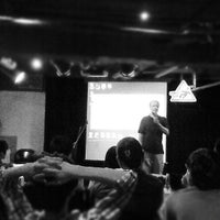 Photo taken at Comedy Club 卡米地喜劇俱樂部 by Johnnie X. on 5/6/2012