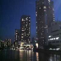 Photo taken at 潮路橋 by isshie_t on 8/8/2012