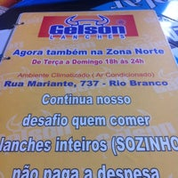 Photo taken at Gelson Lanches by Vitoria R. on 7/16/2012