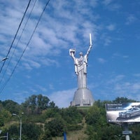 Photo taken at Площа Героїв ВВВ by Александр П. on 8/25/2012