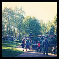 Photo taken at Парк 60-летия Октября by Евгений Г. on 5/9/2012