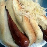 Photo taken at Papaya Dog by Mike W. on 8/20/2011