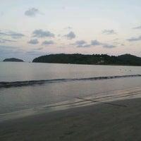 Photo taken at Praia Alegre by Antonio M. on 12/29/2011