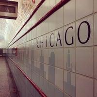 Photo taken at CTA - Chicago (Red) by Jon B. on 11/29/2011
