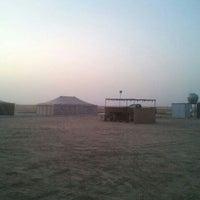 Photo taken at مخيم الربع (فريق الفارسي) by Khaled A. on 11/12/2011