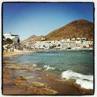Photo taken at Playa de San José by Paco G. on 7/28/2012