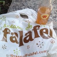 Photo taken at I Dream of Falafel by Marina V. on 3/15/2012