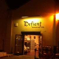 Photo taken at Defiant Brewing Co. by Christopher C. on 11/29/2011