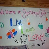 Photo taken at Shirley's Cafe by Jordan G. on 8/10/2011
