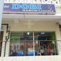 Photo taken at Kedai Dobi Harum Laundry by baba on 8/5/2012