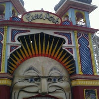 Photo taken at Luna Park by Rebecca on 12/3/2011