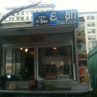 Photo taken at E-San Thai Food Cart by Big Top Waffles on 12/15/2011
