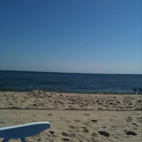Photo taken at Sandy Hook (Gateway National Recreation Area) by Despina on 7/17/2011