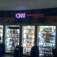 Photo taken at CNN Newstand - SJC Terminal A by wutor ♐. on 9/17/2011