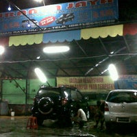 Photo taken at Suranta Jaya Car Wash by Bambang S. on 3/17/2012