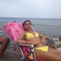 Photo taken at Acquamarina by Francesco C. on 8/7/2012