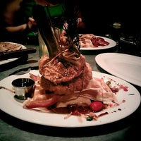 Photo taken at Hash House A Go Go by Marcie E. on 9/8/2012