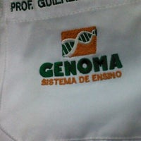 Photo taken at Colégio Genoma by Guilherme M. on 8/20/2012