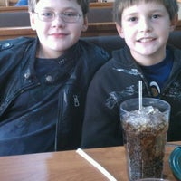 Photo taken at Ponderosa Steakhouse by Crystal M. on 11/18/2011
