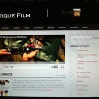 Photo taken at Critique Film by Julien M. on 3/2/2011