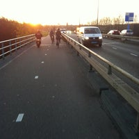 Photo taken at Westenholterbrug by Erik B. on 11/28/2011