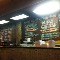 """Photo taken at A1A Burrito Works """" The Taco Shop"""" by Wagner S. on 9/24/2011"""