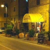 Photo taken at Quei 2 - Bar Ristorante Gastronomia by Gabriele R. on 9/23/2011