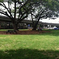 Photo taken at Moanalua Dog Park by Crystal Y. on 5/15/2011