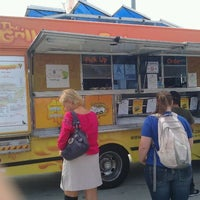 Photo taken at The Grilled Cheese Truck by AJ L. on 9/24/2011