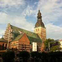 Photo taken at Rīgas Doms | Riga Cathedral by Linda on 7/26/2011