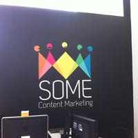 Photo taken at SOME Content Marketing by Agustin M. on 11/14/2011