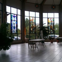 Photo taken at Our Lady of Lourdes by Lynda P. on 9/8/2012