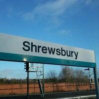 Photo taken at Shrewsbury Railway Station (SHR) by Fred G. on 1/2/2012