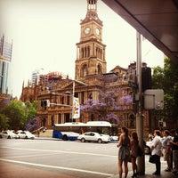 Photo taken at Sydney Town Hall by Keeden G. on 11/14/2011
