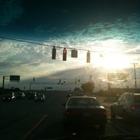 Photo taken at At A F'ing Long Red Light by Brittany C. on 9/11/2011