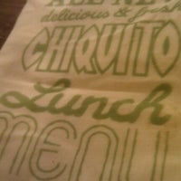 Photo taken at Chiquito by Wafi B. on 11/13/2011