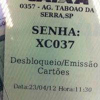Foto tomada en Caixa Econômica Federal por Cristina Akemi U. el 4/23/2012