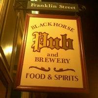 Photo taken at Blackhorse Pub & Brewery by Marissa P. on 10/2/2011
