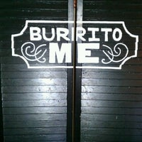 Photo taken at Burrito Me by shelby on 11/10/2011