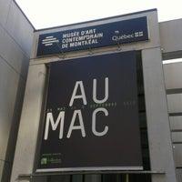 Photo taken at Musée d'art contemporain de Montréal (MAC) by Cory G. on 8/1/2012