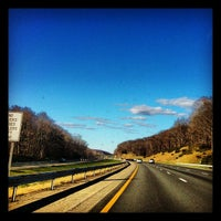 Photo taken at New York State Thruway by Jeremy B. on 4/5/2012