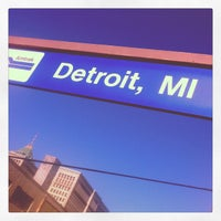 Photo taken at Detroit Amtrak Station (DET) by Shannon H. on 11/2/2011