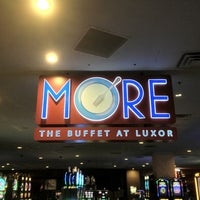 Photo taken at MORE The Buffet at Luxor by Elmer T. on 11/22/2011